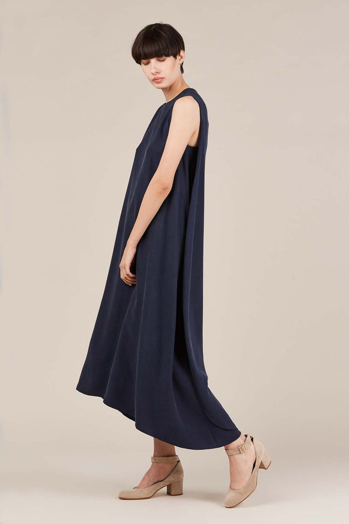 Xoay Dress, Space Blue
