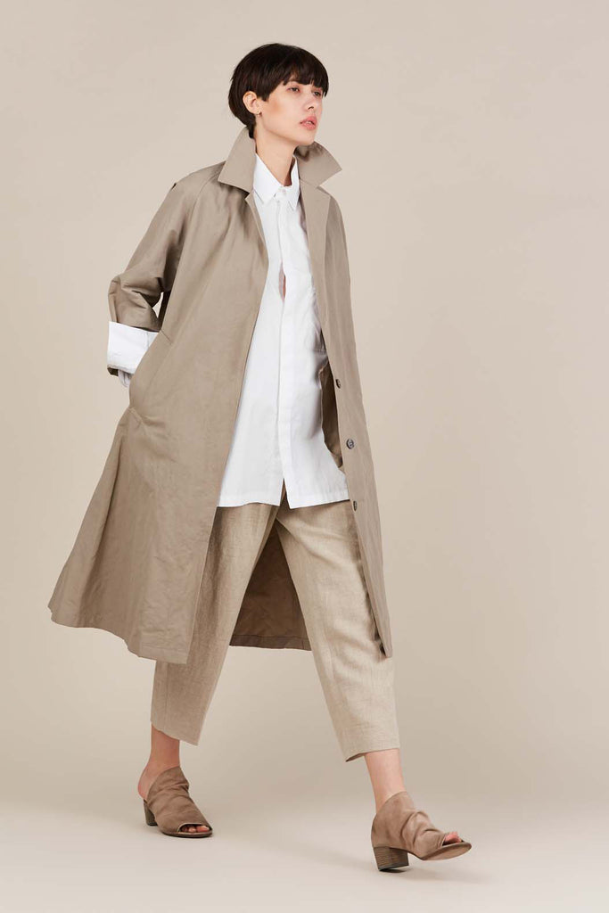 Trench Coat, Tan
