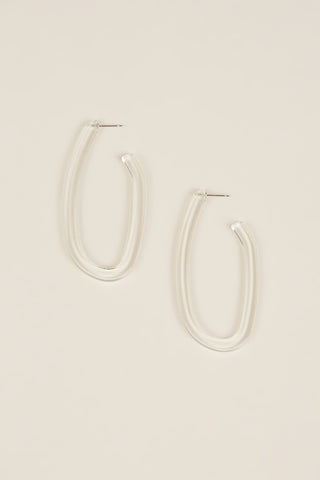 Maya Earrings, Clear