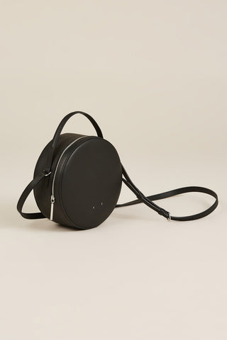 AB 38 Circle Crossbody Bag, Black