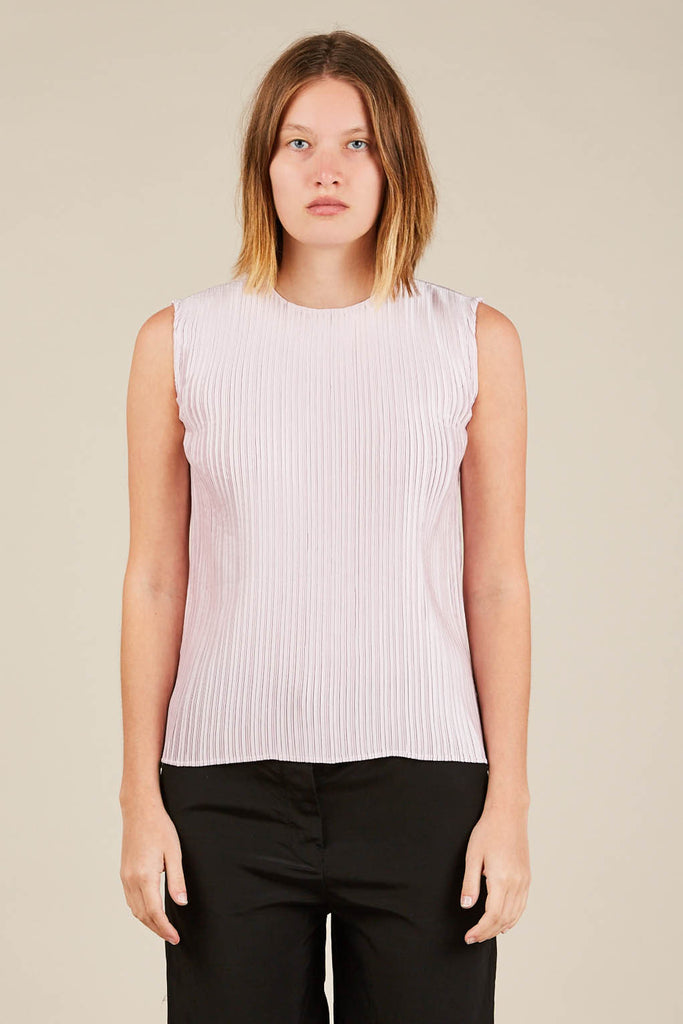 Twan pleated tank, Light Pink