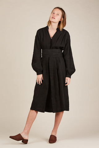 Poet dress, Black