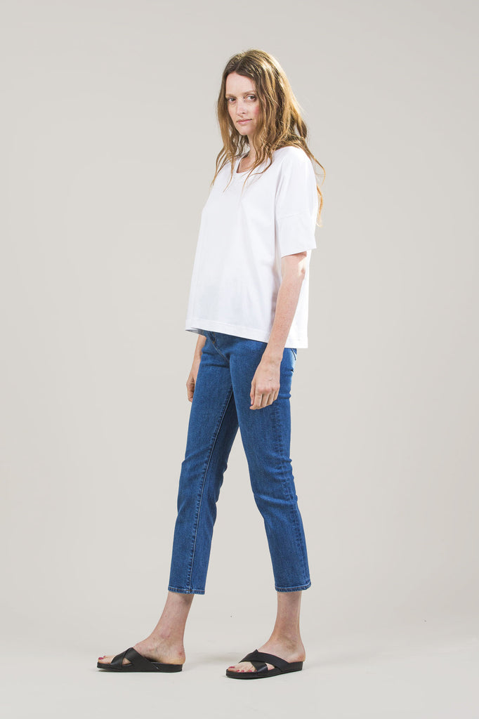 High-Rise Jeans by M. Martin @ Kick Pleat - 8