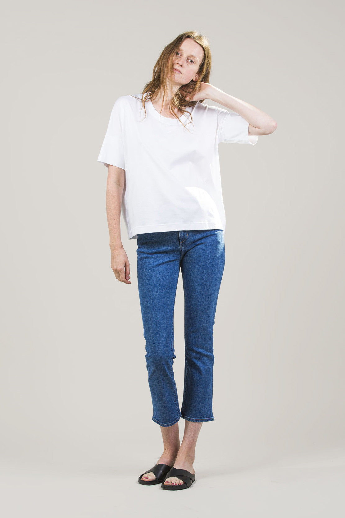 High-Rise Jeans by M. Martin @ Kick Pleat - 1