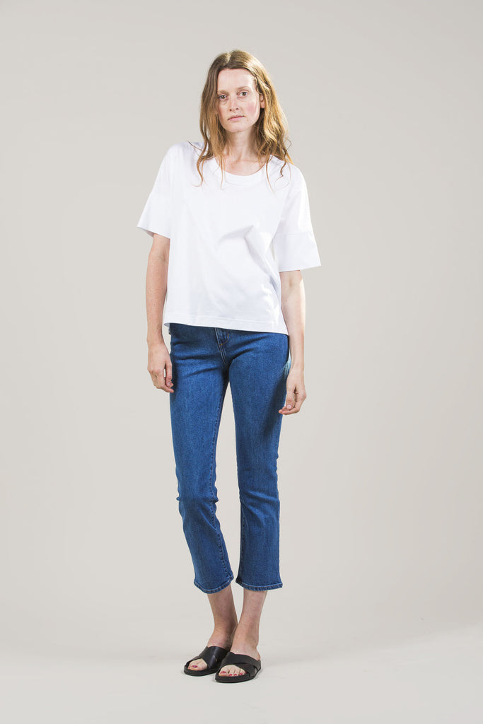 High-Rise Jeans by M. Martin @ Kick Pleat - 9