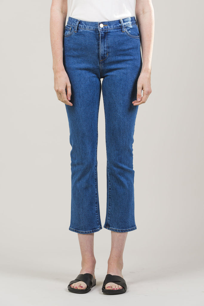 High-Rise Jeans by M. Martin @ Kick Pleat - 2