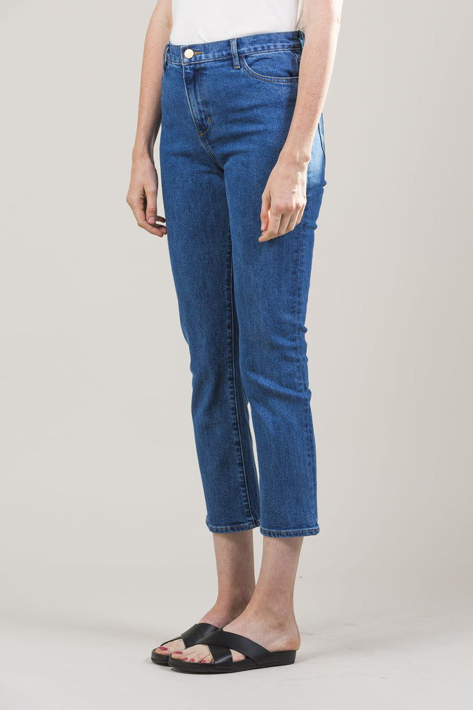 High-Rise Jeans by M. Martin @ Kick Pleat - 3