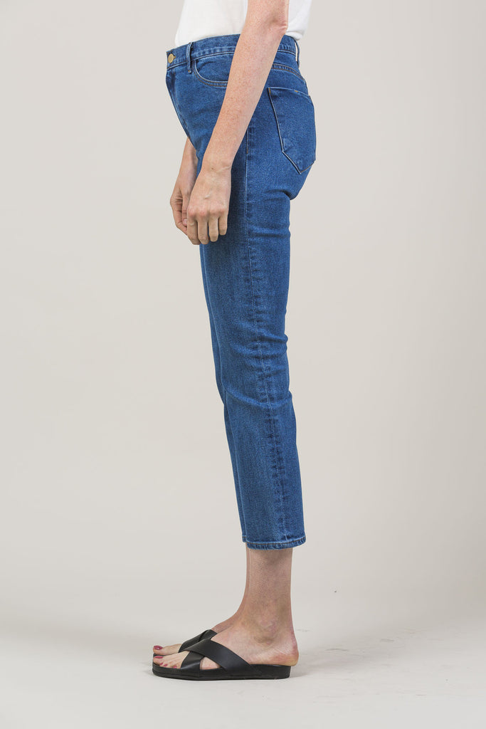 High-Rise Jeans by M. Martin @ Kick Pleat - 4