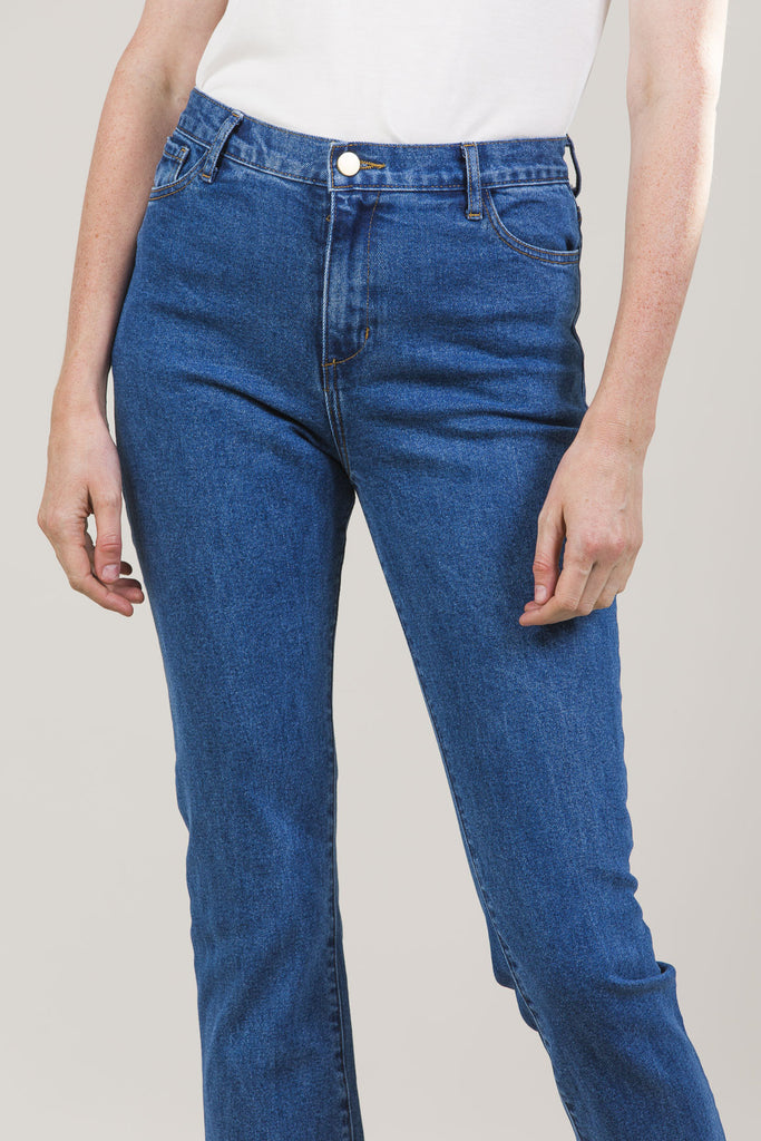 High-Rise Jeans by M. Martin @ Kick Pleat - 6