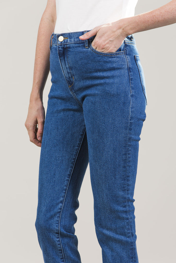 High-Rise Jeans by M. Martin @ Kick Pleat - 7