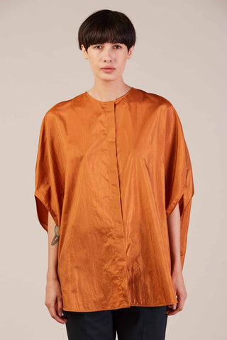Cleo circle shirt, Bright Orange