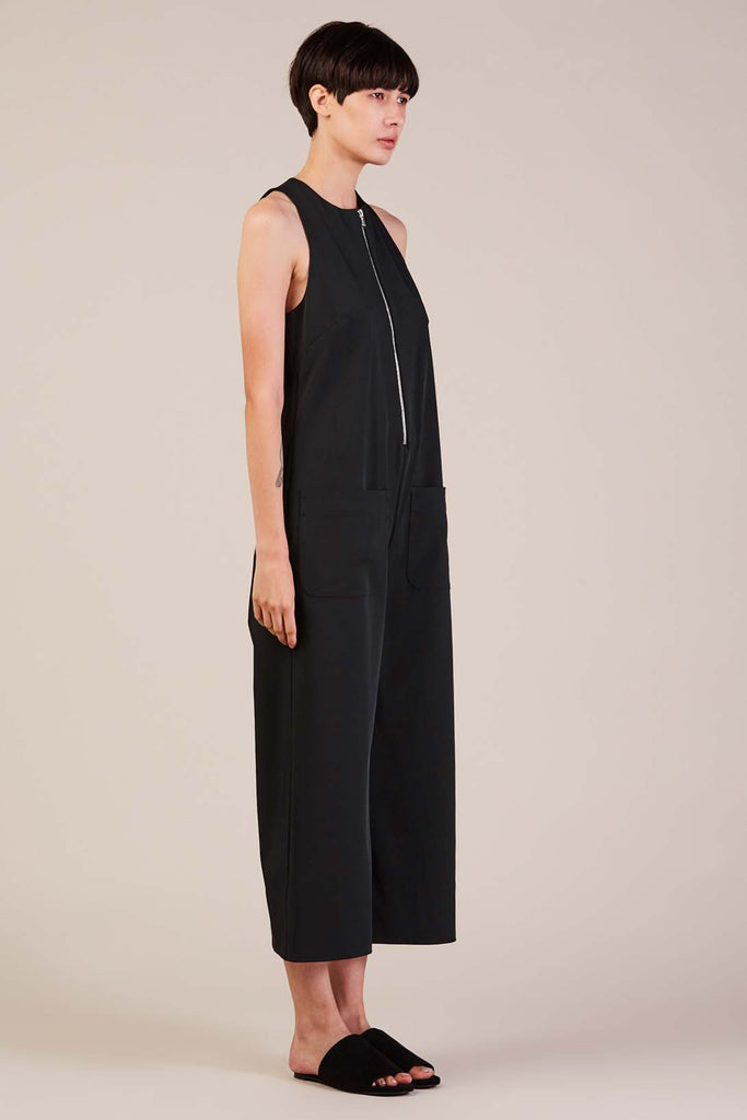 Cropped Jumpsuit, Midnight by Nomia