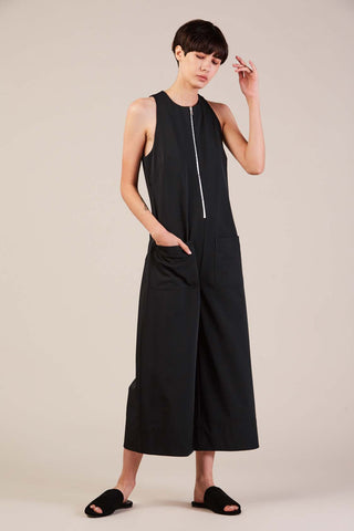 Cropped jumpsuit, Midnight