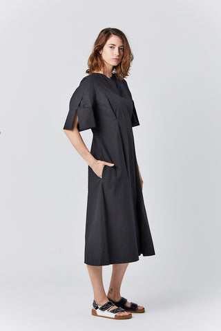 NICE powder cotton dress, black
