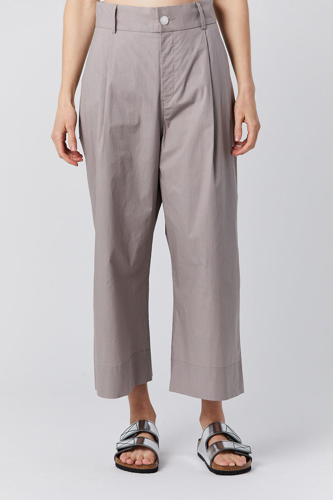 Studio Nicholson - GRETA extrafine cotton trouser, plaster