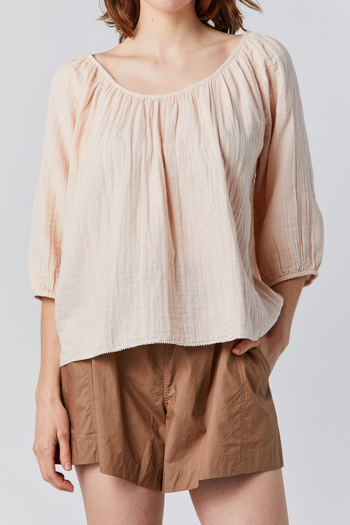 Apiece Apart - esa long sleeve top, blush