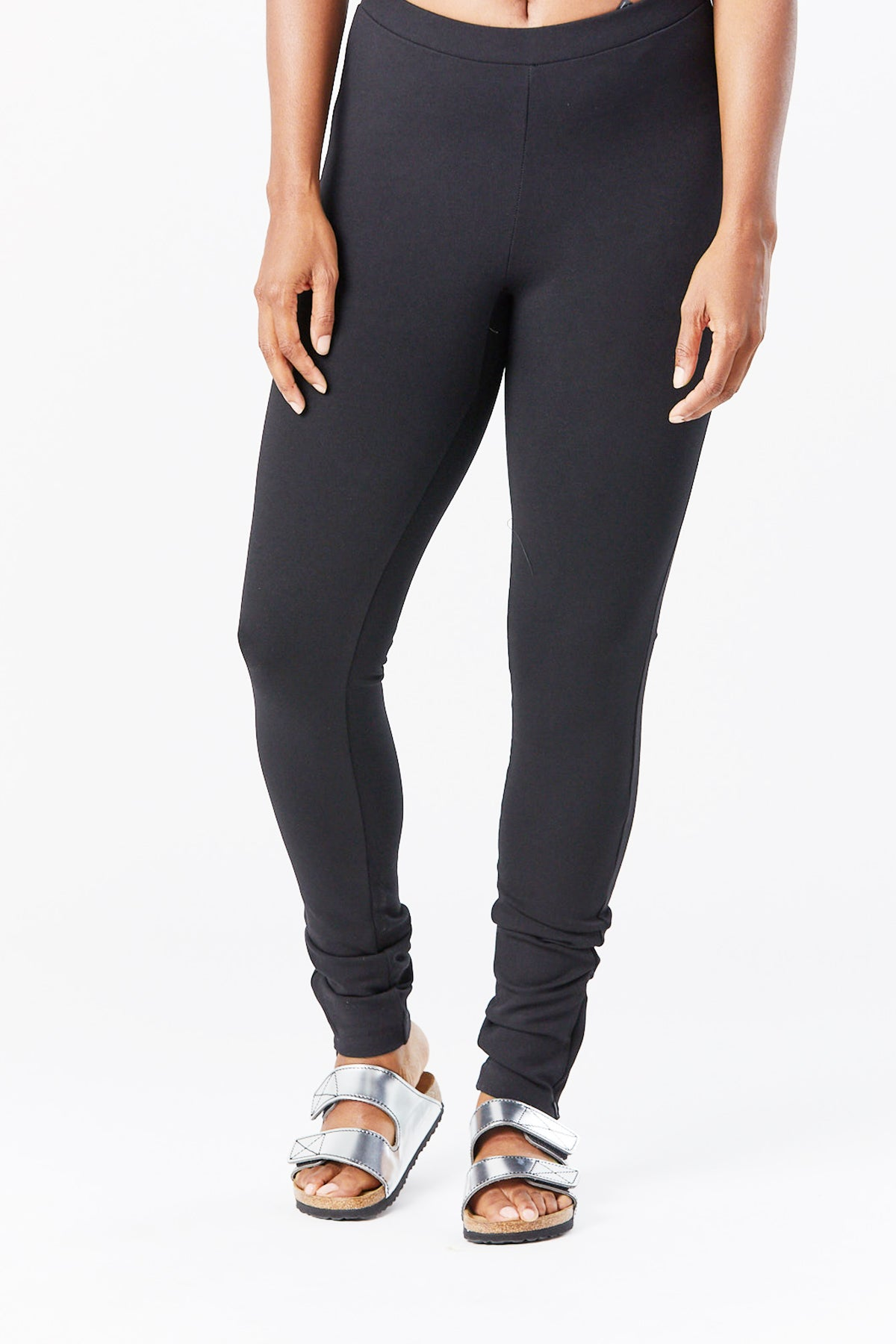 Totême - cork trouser, black