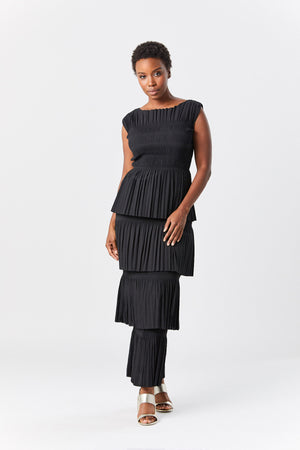 Totême - aramon dress, black