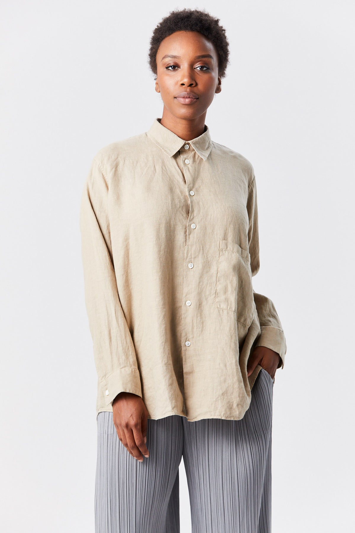 Hope - elma shirt, beige