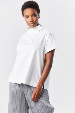 easy tee top, white