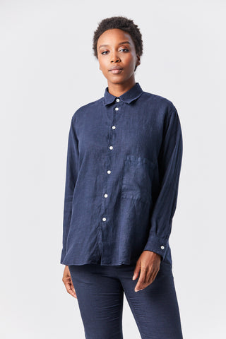 elma shirt, navy