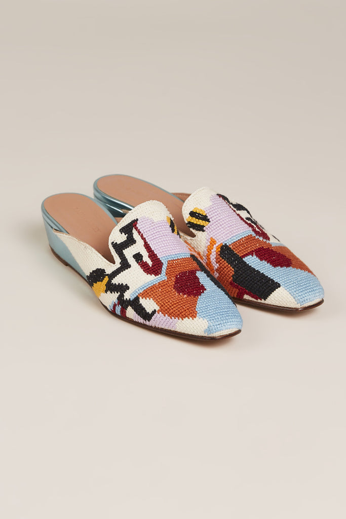 Wald Loafer, Needlepoint
