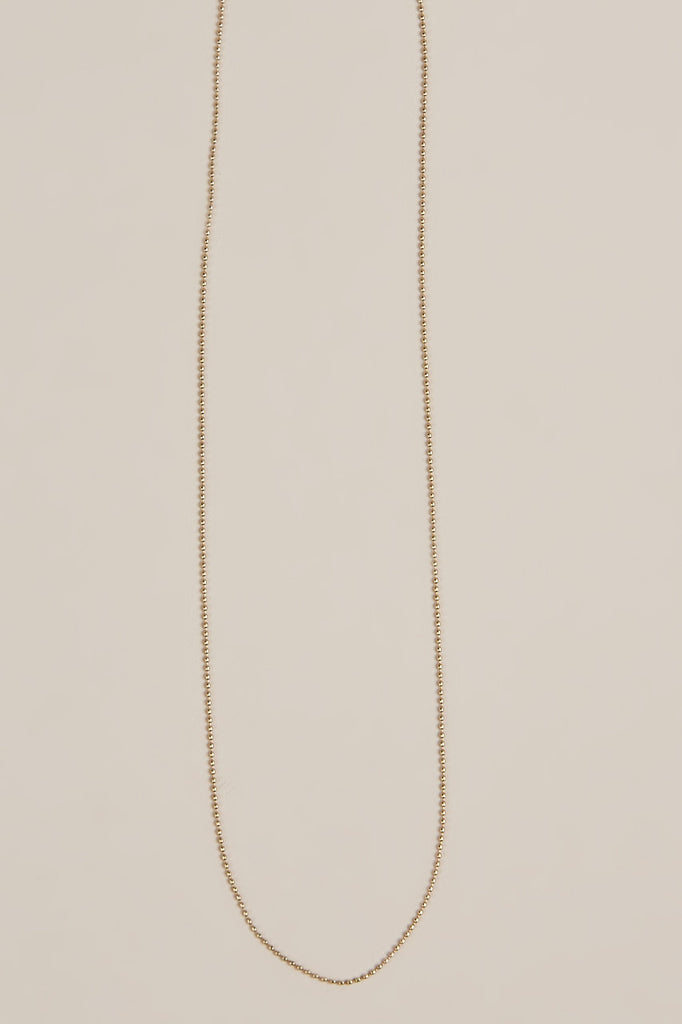 Blanca Monrós Gómez - Gold Dot Necklace