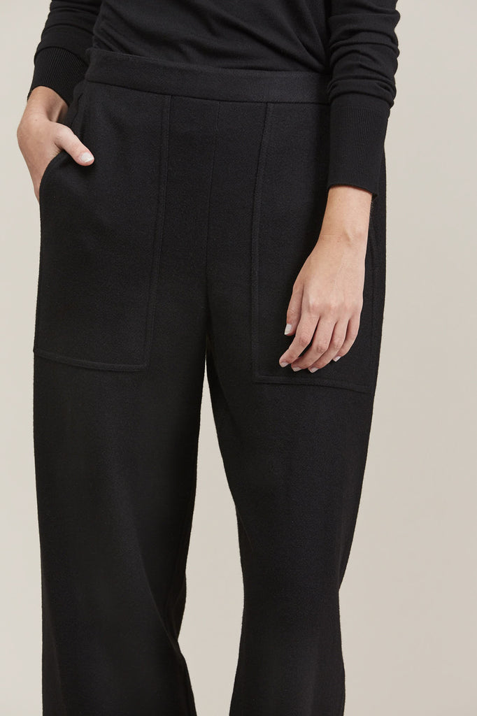 Cropped elasticated pants by Lemaire @ Kick Pleat - 6