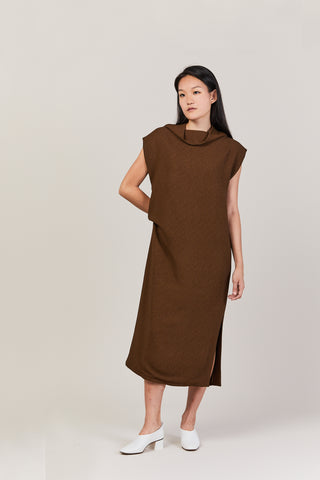 Fatuo Dress, Brown