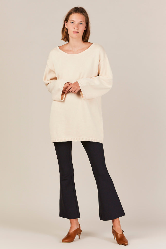 Lakeside Sweater, Cream
