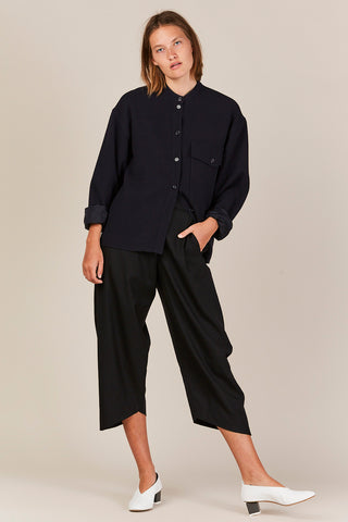 Carine Shirt, Dark Navy