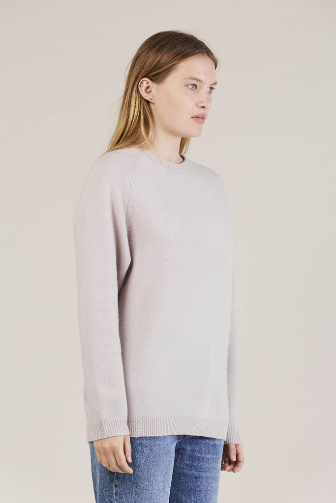 Ajo Felt fuzzy sweater, Lilac by NORSE PROJECTS @ Kick Pleat - 2