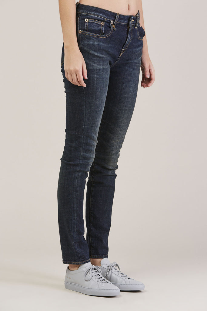 Jenny Mid Rise Skinny by R13 @ Kick Pleat - 3