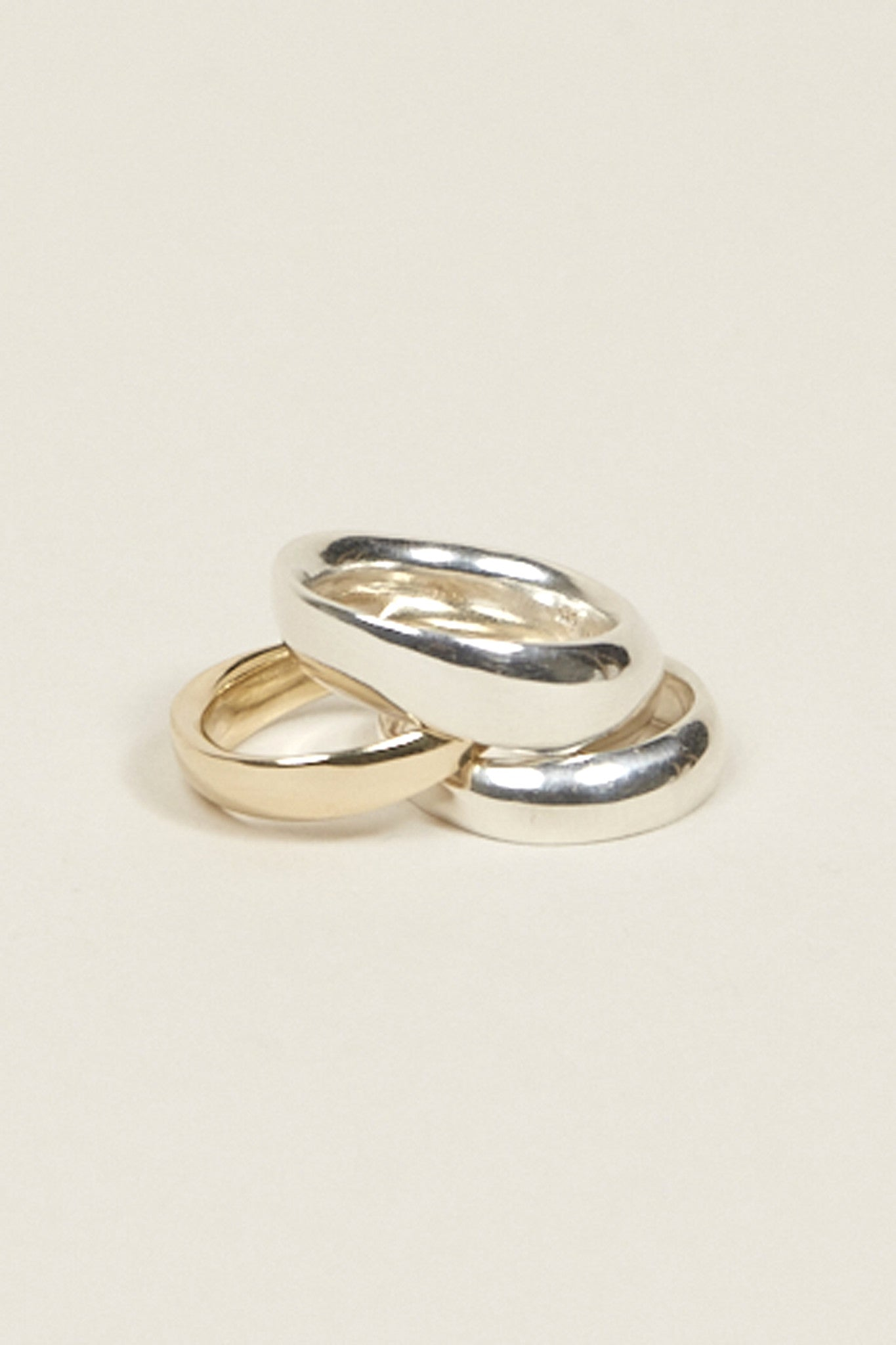 Odell ring No. 1 Narrow, 10k Gold by URSA MAJOR @ Kick Pleat - 1