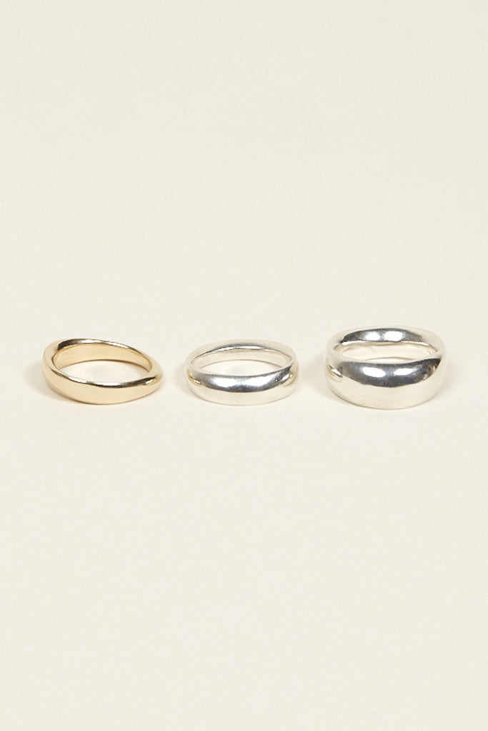 Odell ring No. 1 Narrow, 10k Gold by URSA MAJOR @ Kick Pleat - 3
