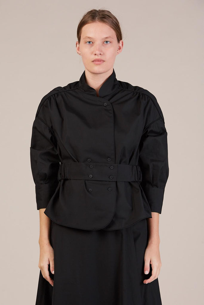Belted top, Coal