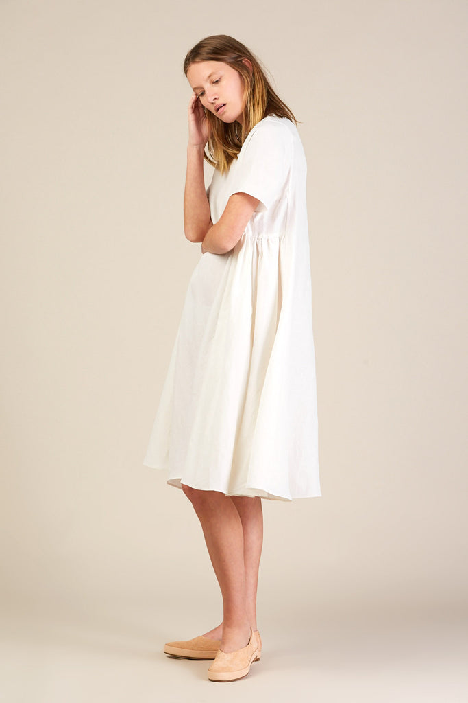 Mallory Dress, White