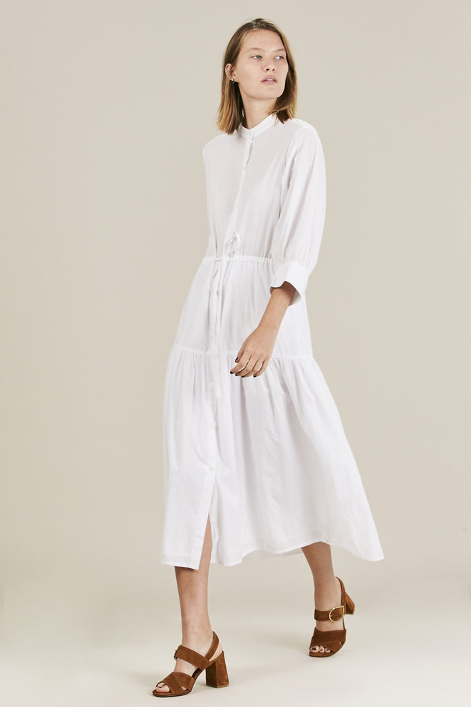 Dunegrass Shirtdress, Cream