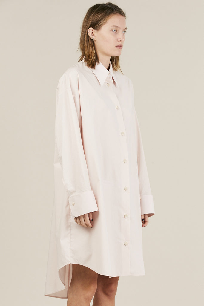 Parachute Poplin dress, Powder - MM6 by Maison Martin Margiela