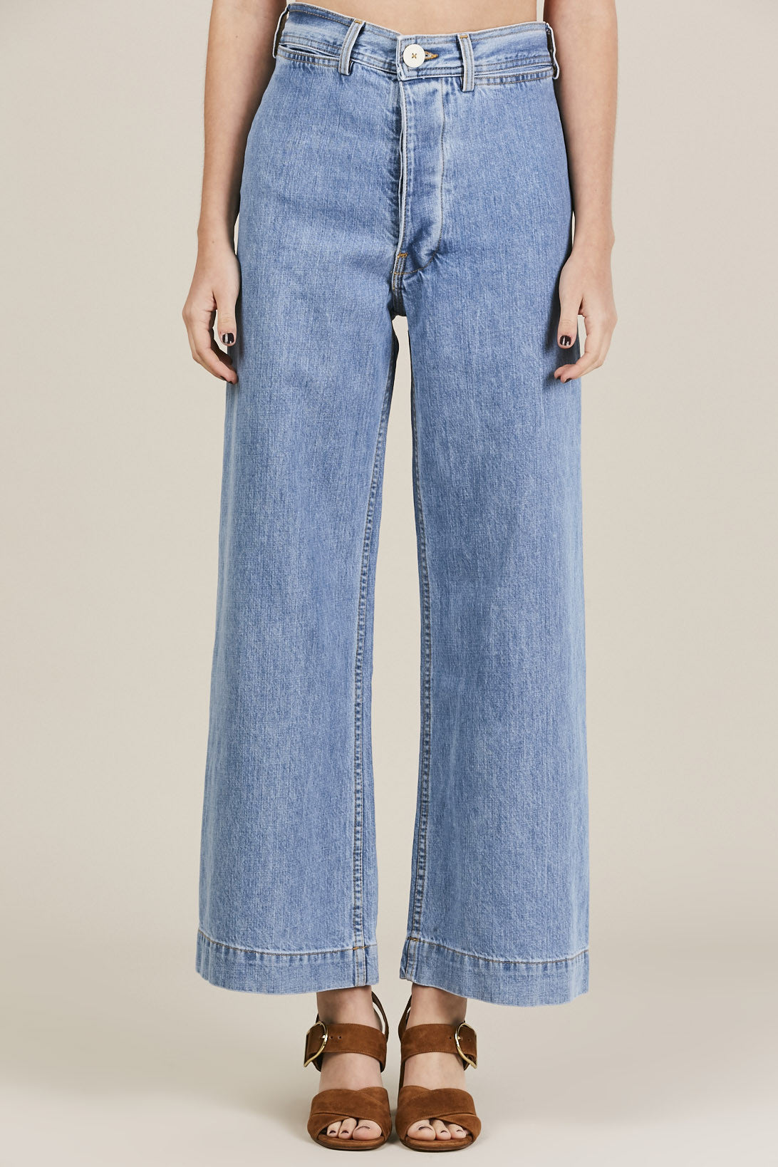 Jesse Kamm - Sailor Pant, Denim - Pants