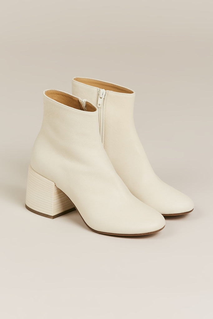 Short boot, Beige