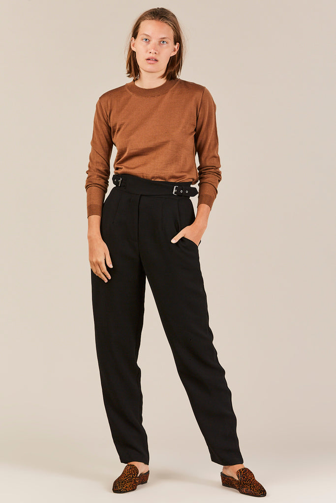 Crown pant, Black