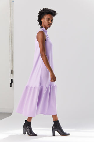 Drape Sculpted Dress, Mulberry