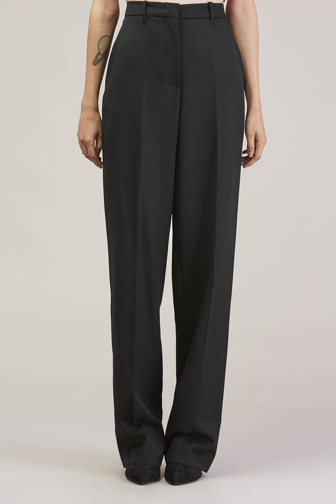 Barnaba basic pants, Black by JIL SANDER @ Kick Pleat - 2