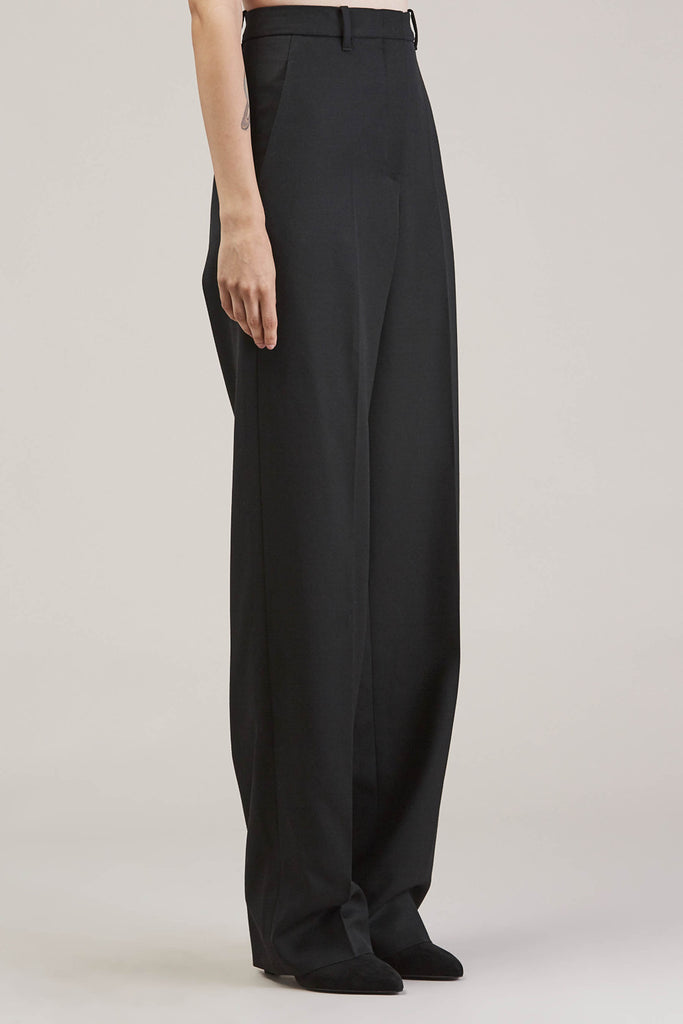 Barnaba basic pants, Black by JIL SANDER @ Kick Pleat - 3