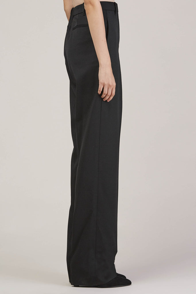 Barnaba basic pants, Black by JIL SANDER @ Kick Pleat - 4