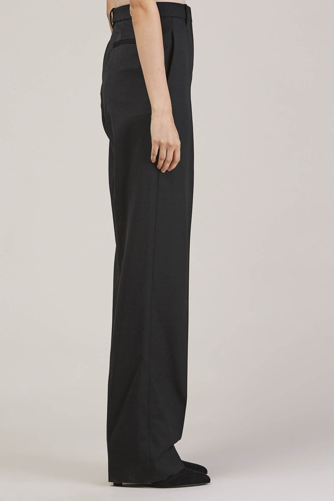 Barnaba basic pants, Black by JIL SANDER @ Kick Pleat - 5