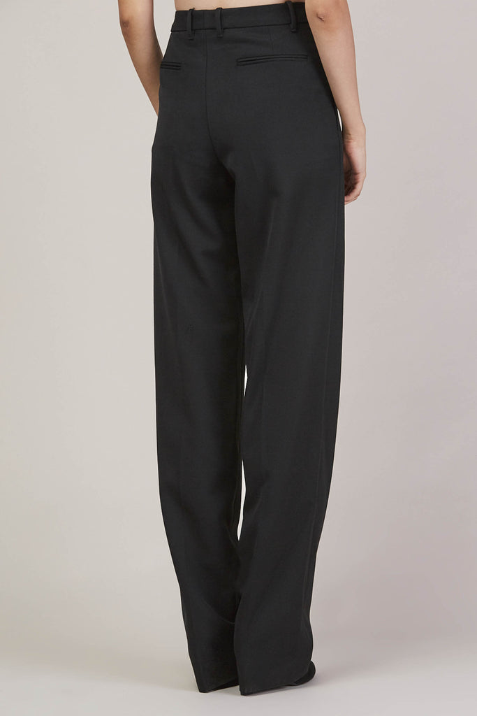 Barnaba basic pants, Black by JIL SANDER @ Kick Pleat - 6