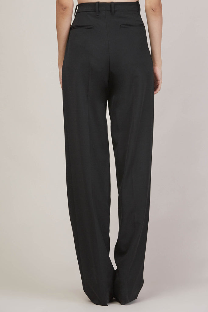 Barnaba basic pants, Black by JIL SANDER @ Kick Pleat - 7