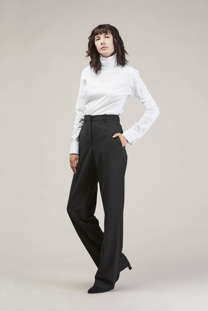 Barnaba basic pants, Black